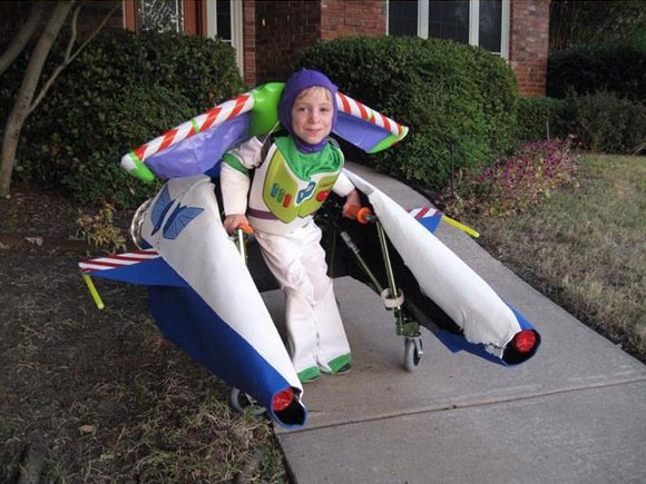 Wheelchair Halloween Costume (7)