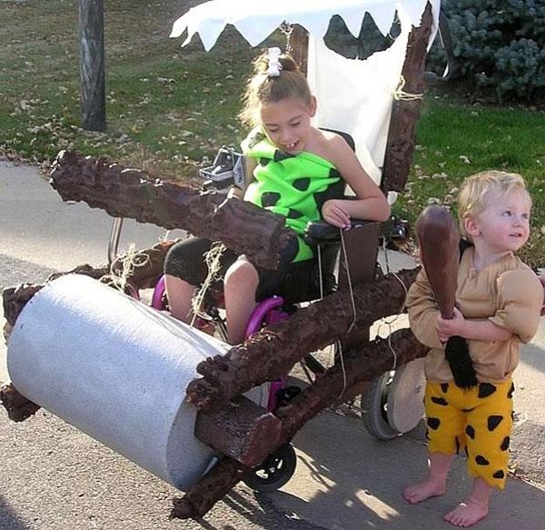 Wheelchair Halloween Costume (9)