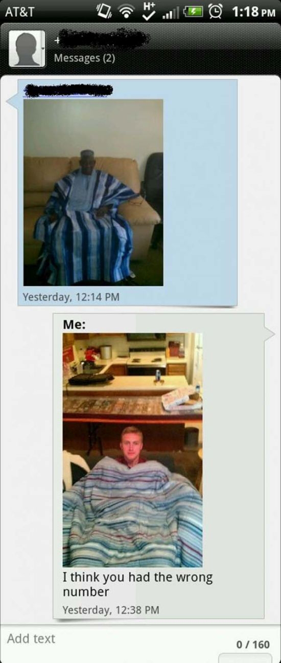 Wrong Number Texts (1)