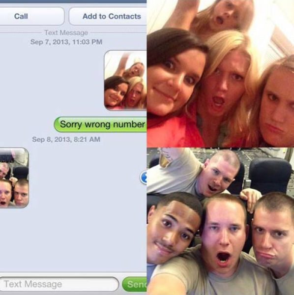 Wrong Number Texts (17)