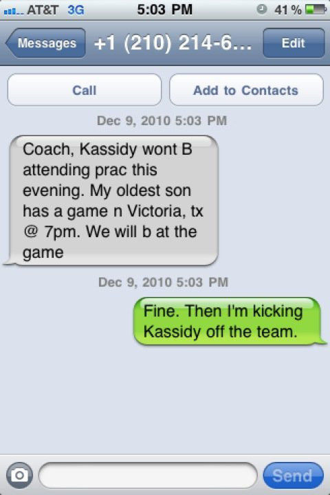 Wrong Number Texts (19)