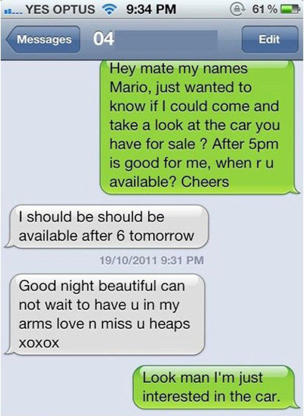 Wrong Number Texts (22)