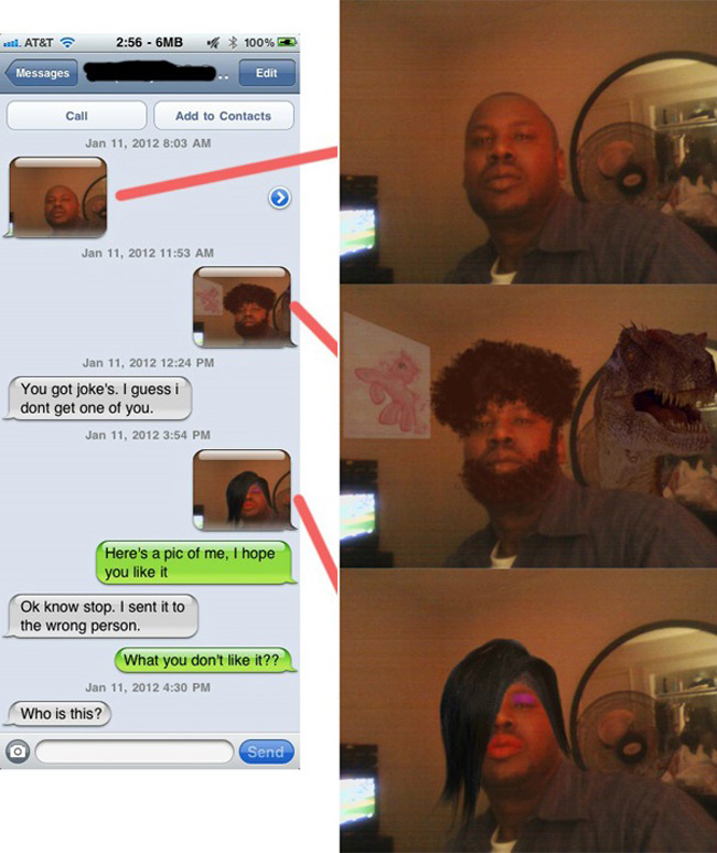 Wrong Number Texts (27)