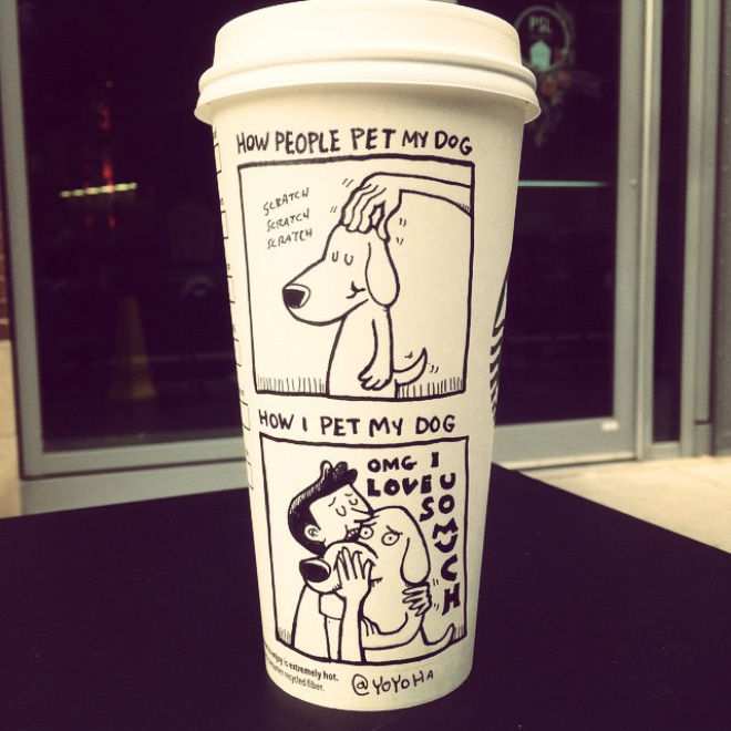 Coffee Cup Cartoon 4