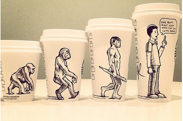 Coffee Cup Cartoon