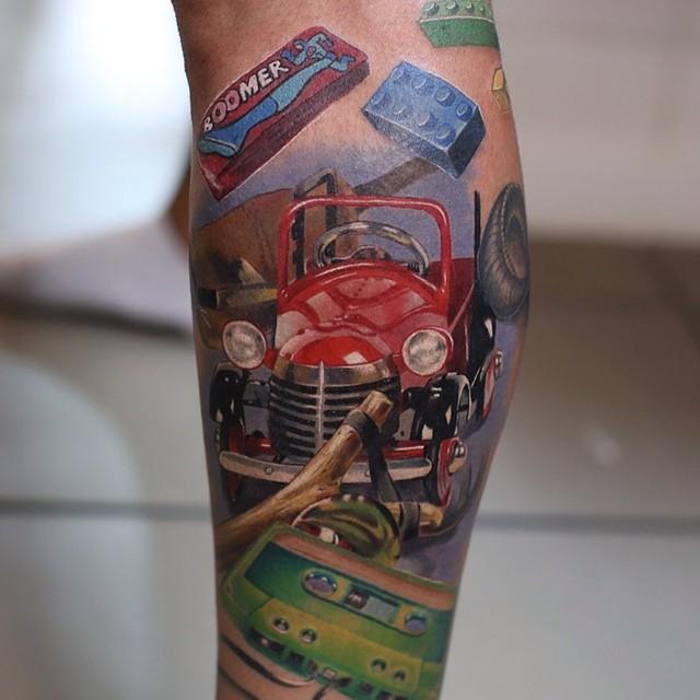 Hyperrealistic Tattoo 17