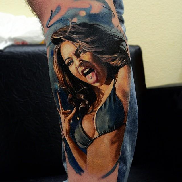 Hyperrealistic Tattoo 19