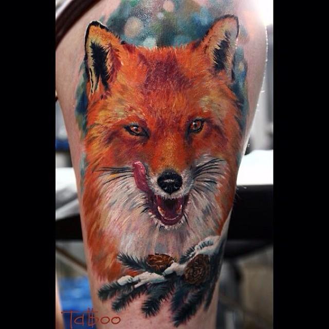 Hyperrealistic Tattoo 2