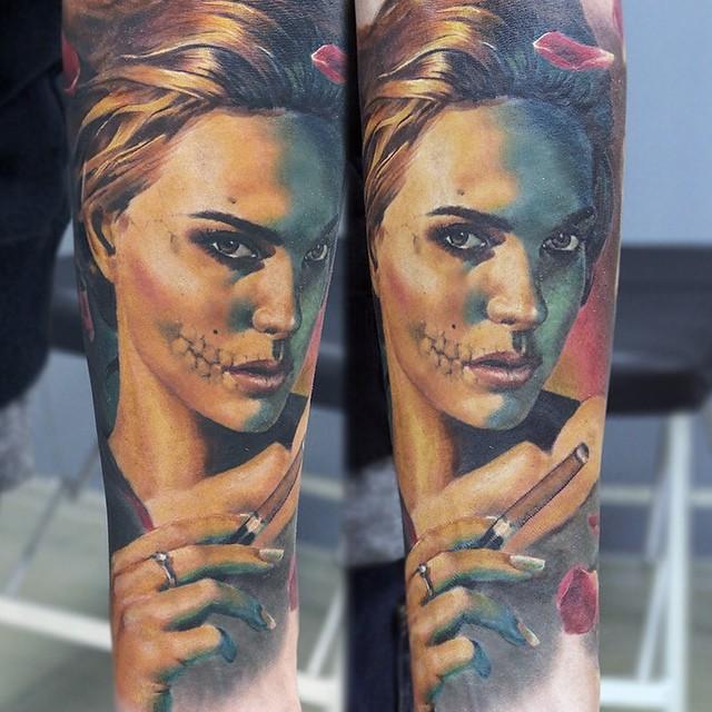 Hyperrealistic Tattoo 21