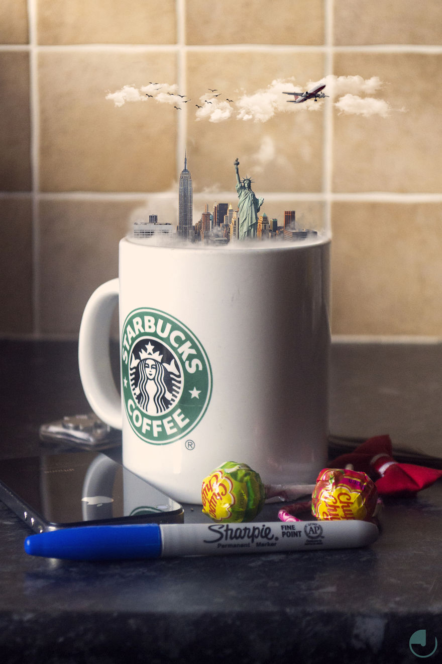 Miniature City In A Cup 3