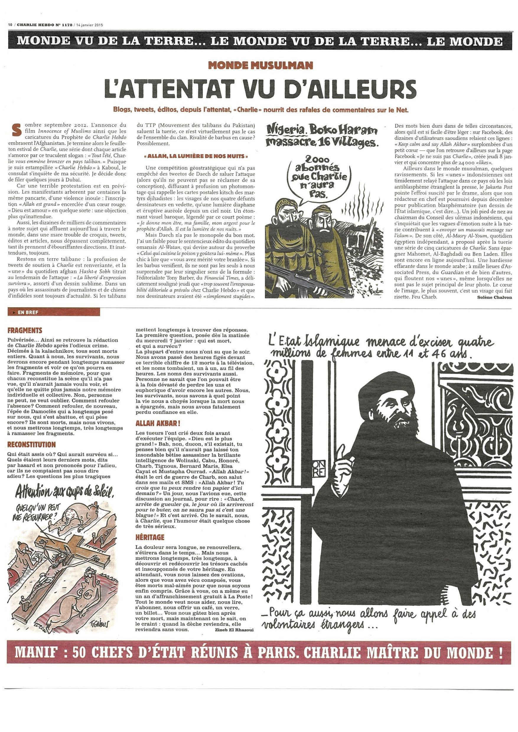 Charlie Hebdo #1178 Page 10