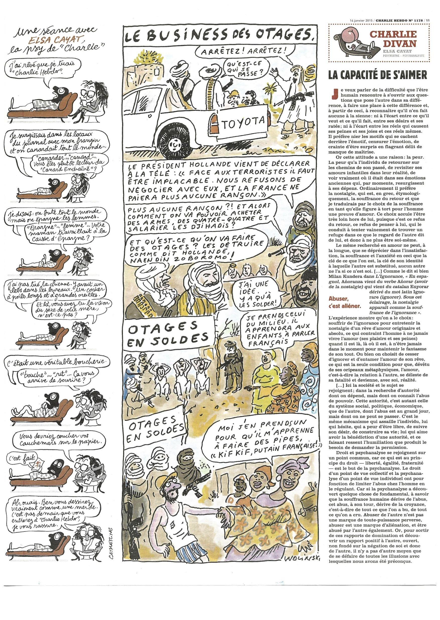 Charlie Hebdo #1178 Page 11