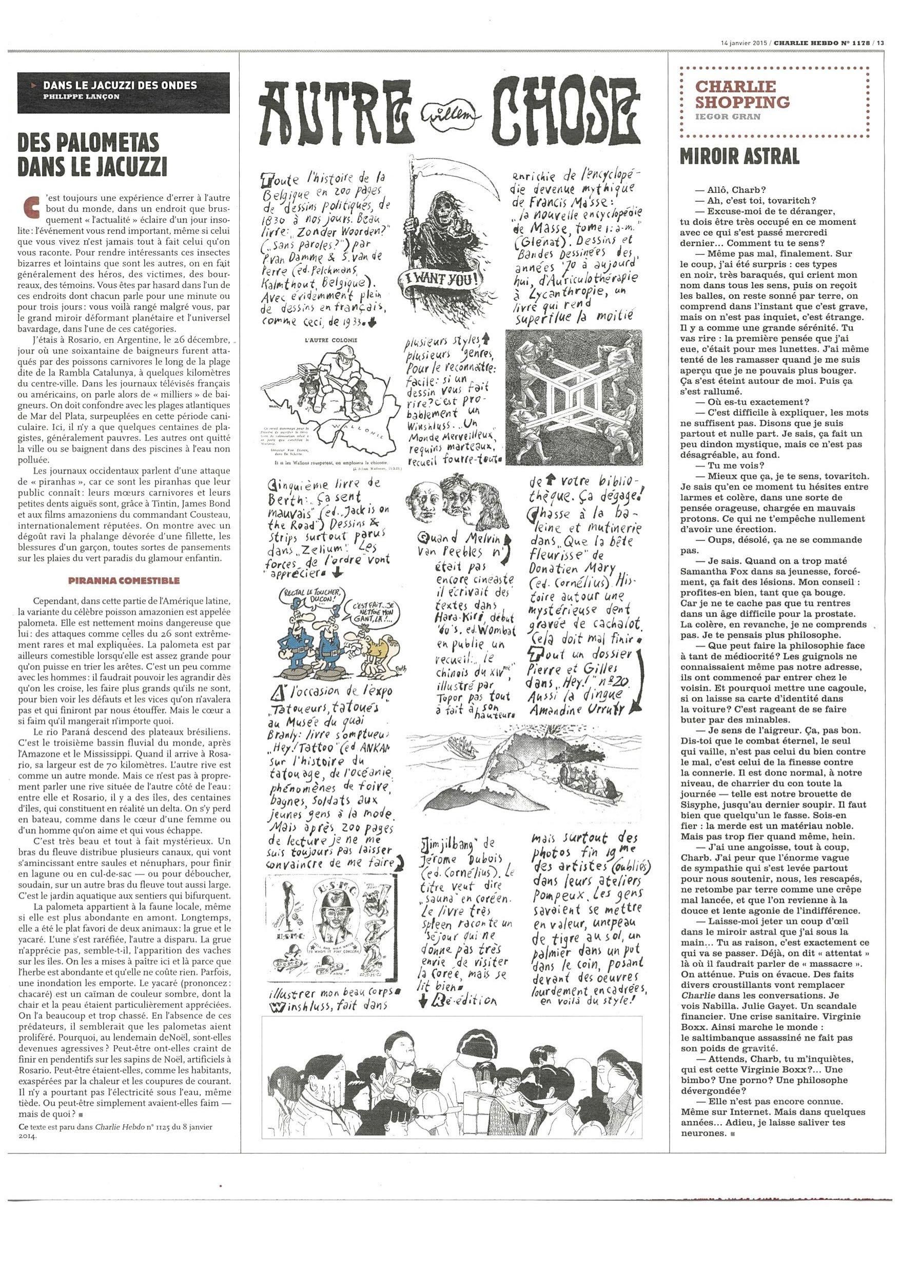 Charlie Hebdo #1178 Page 13