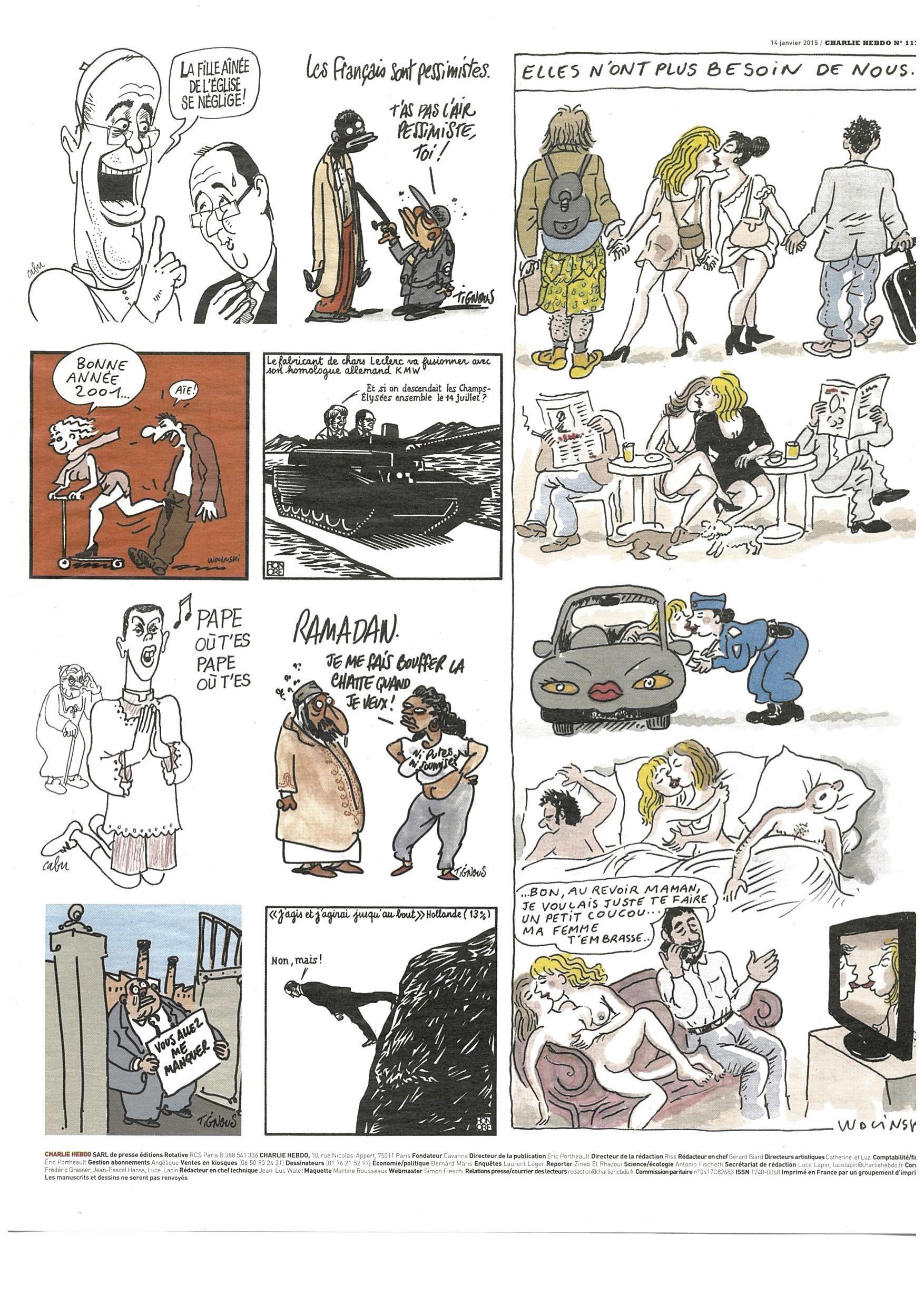 Charlie Hebdo #1178 Page 15