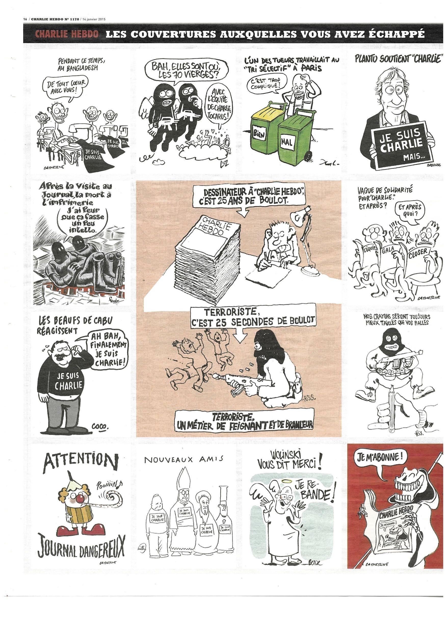 Charlie Hebdo #1178 Page 16