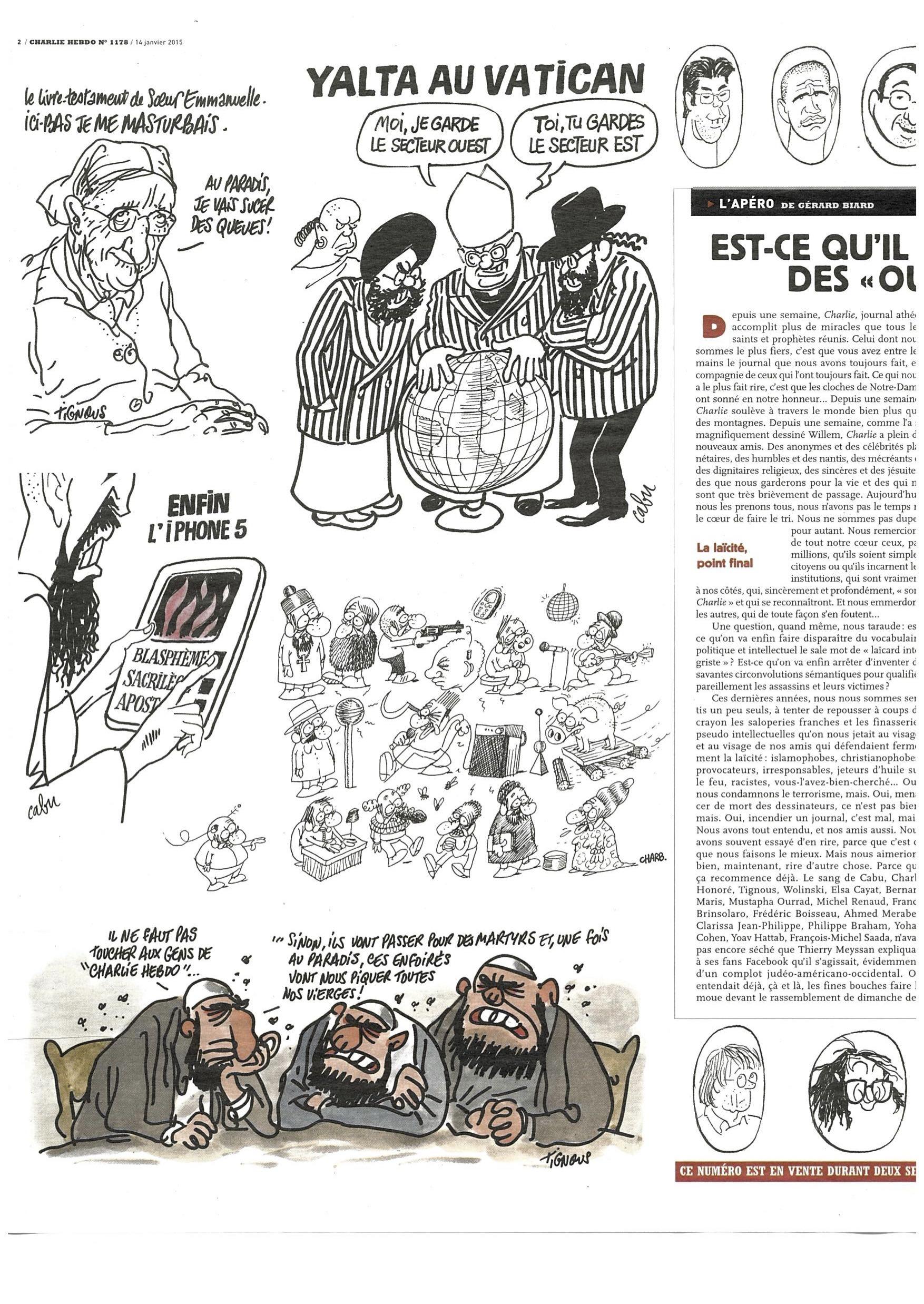 Charlie Hebdo #1178 Page 2