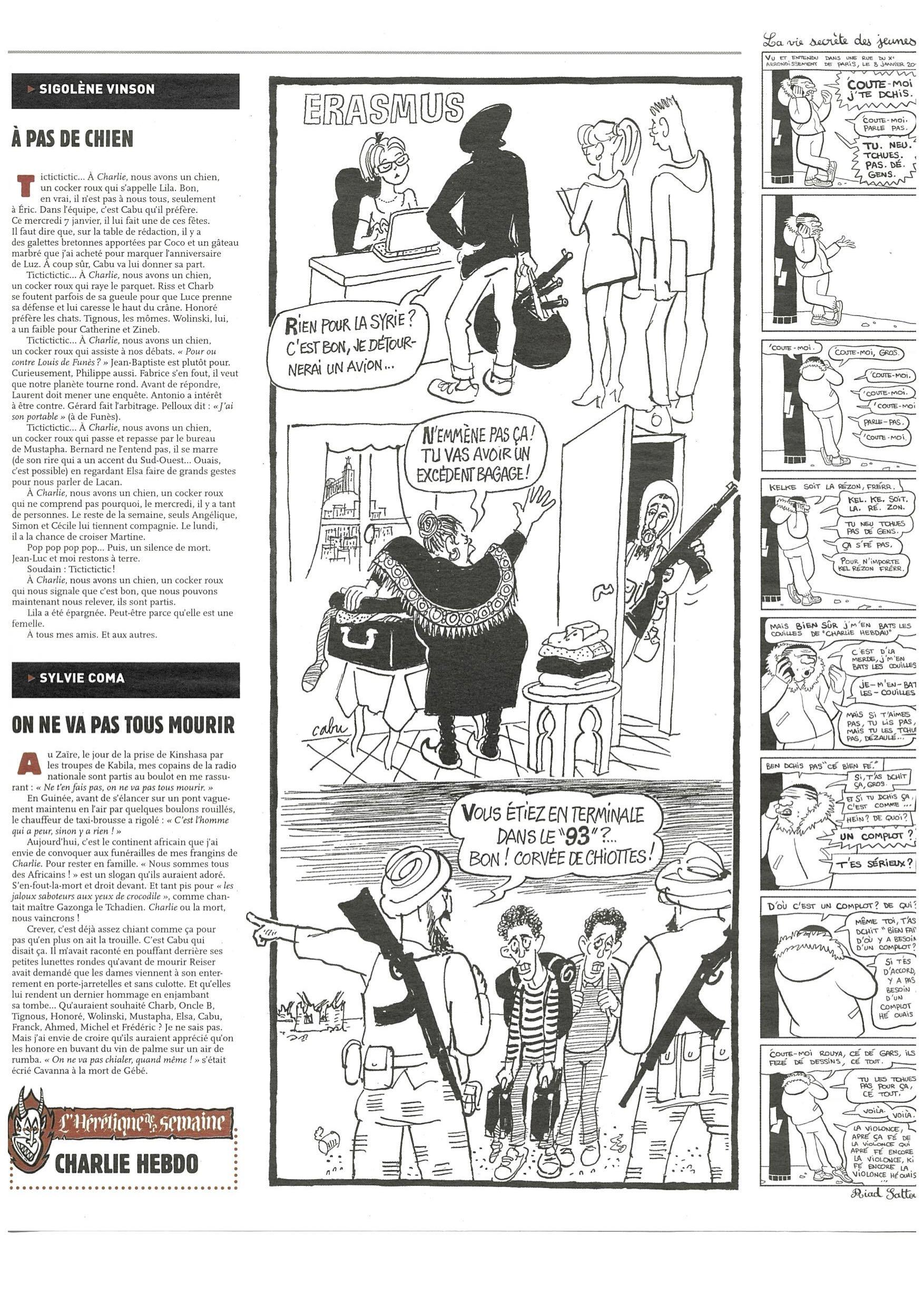 Charlie Hebdo #1178 Page 5