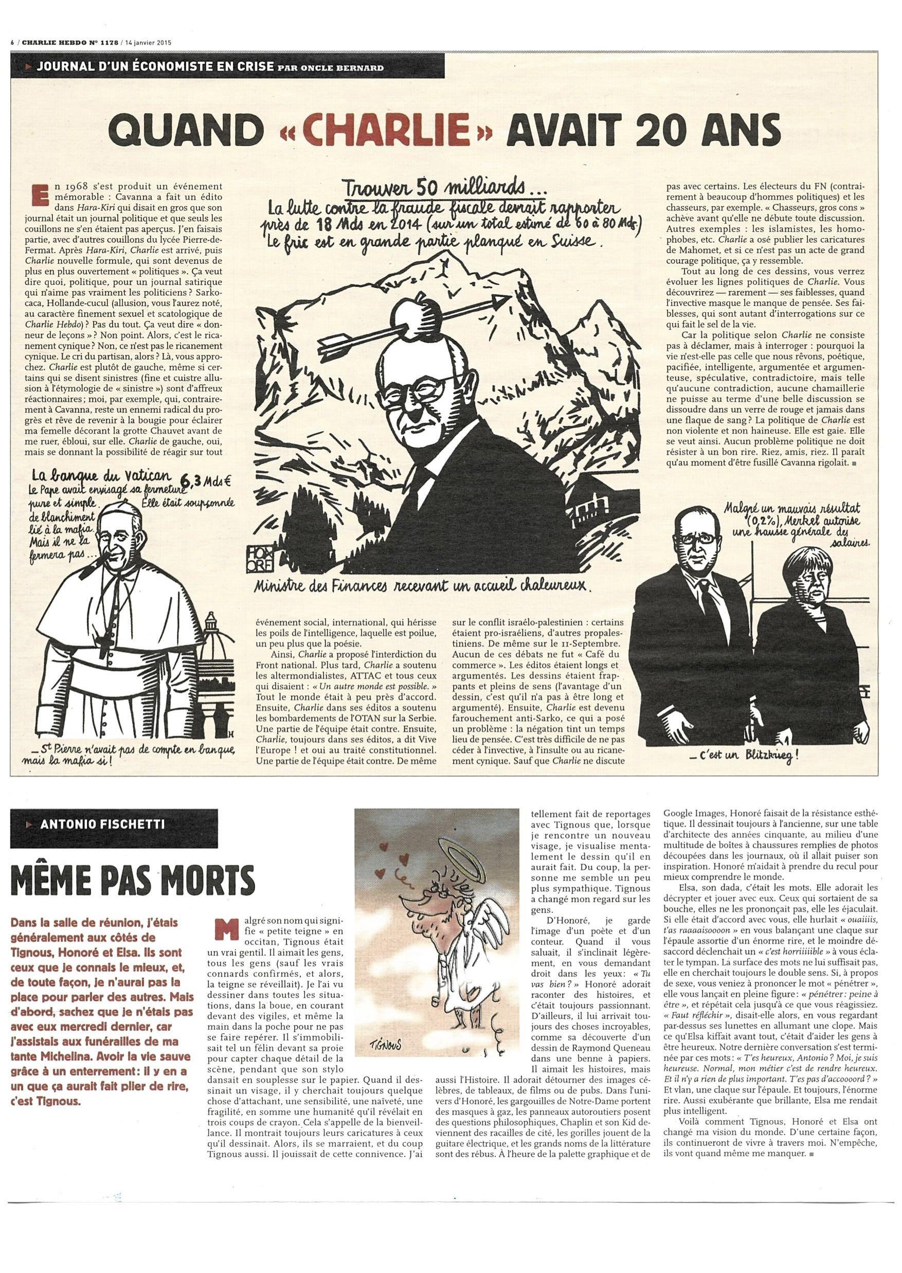 Charlie Hebdo #1178 Page 6