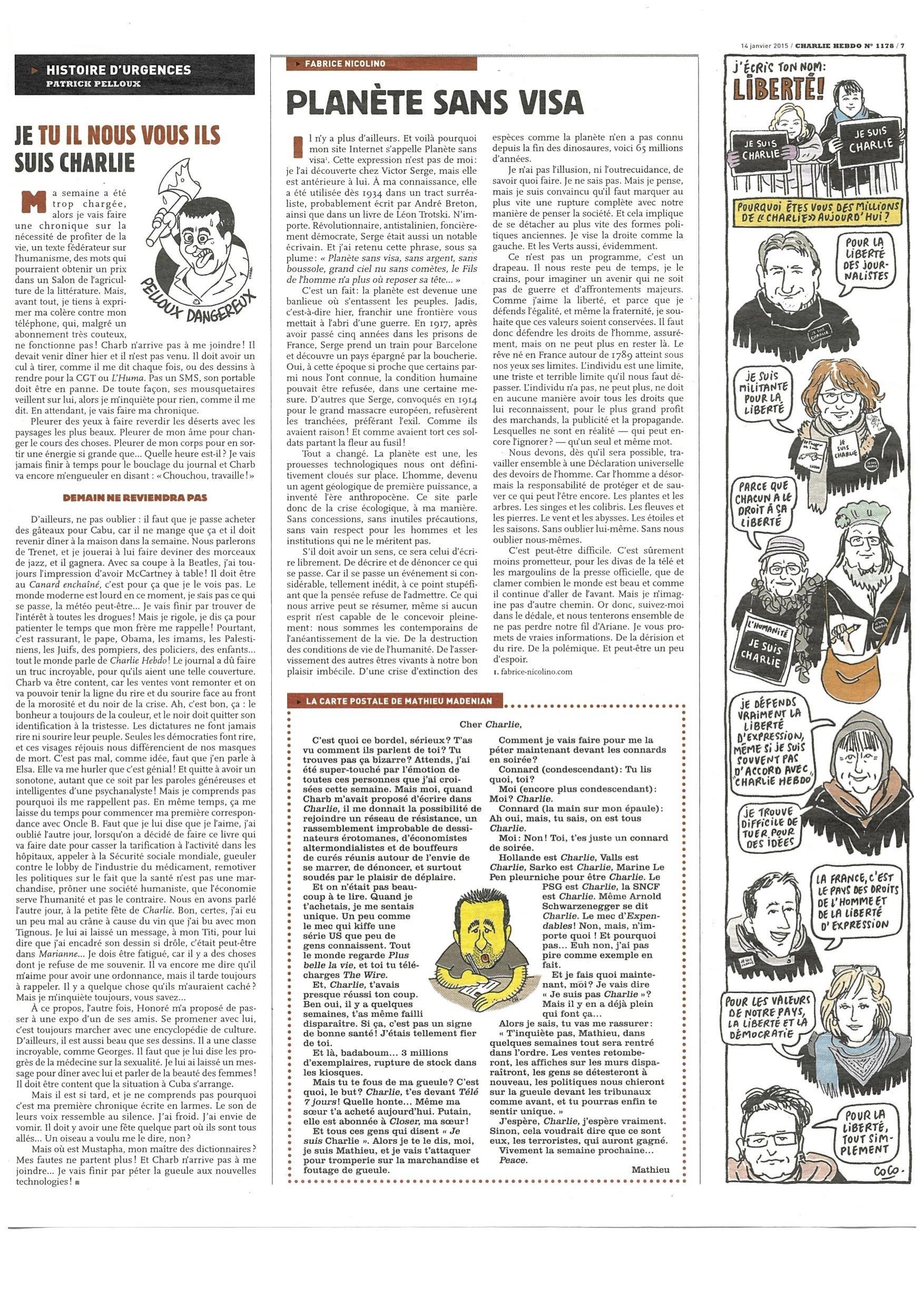 Charlie Hebdo #1178 Page 7