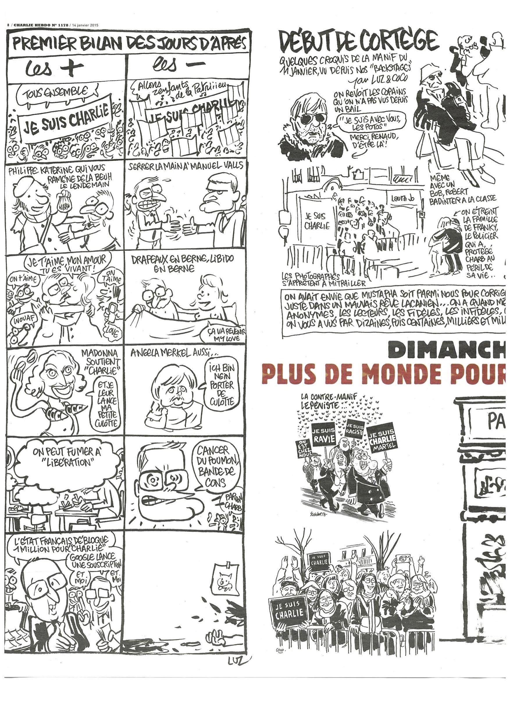 Charlie Hebdo #1178 Page 8
