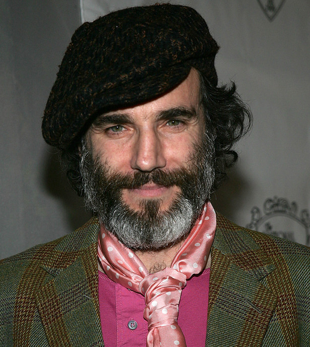 Daniel Day-Lewis With Beard