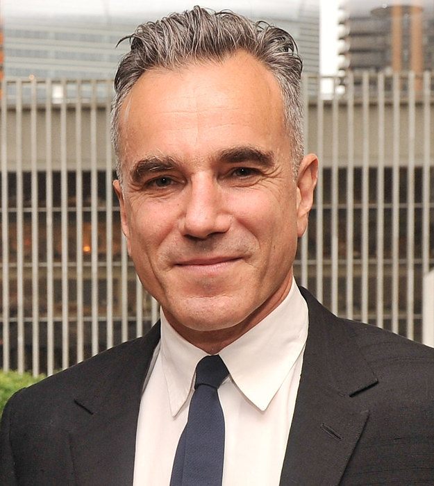 Daniel Day-Lewis Without Beard