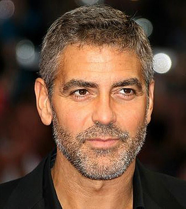 George Clooney With Beard
