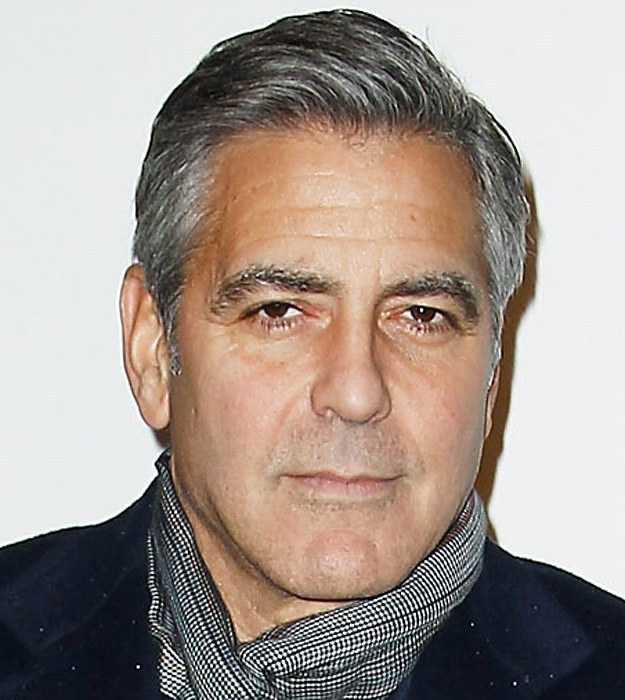 George Clooney Without Beard