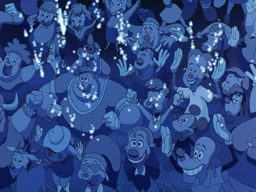 Hidden Mickey Mouse In Disney Movie 1