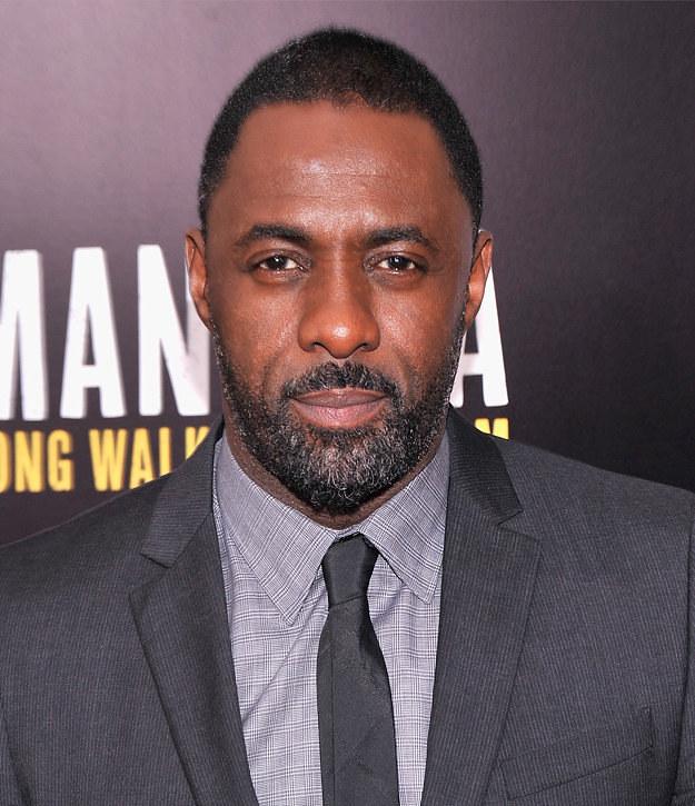 Idris Elba With Beard