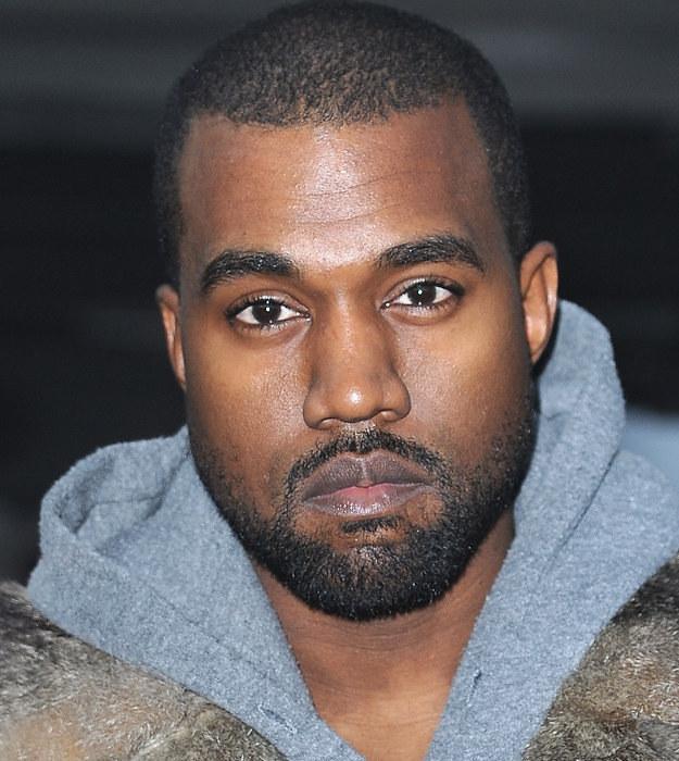 Kanye West With Beard