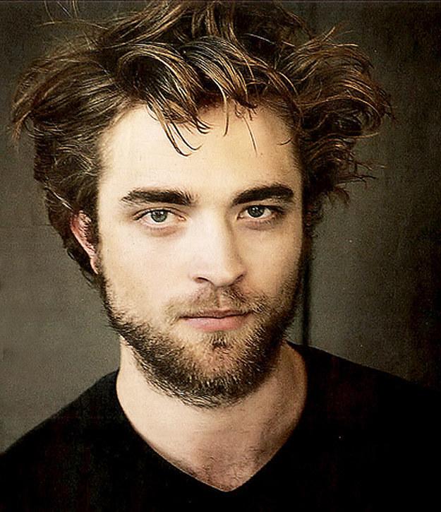 Robert Pattinson With Beard