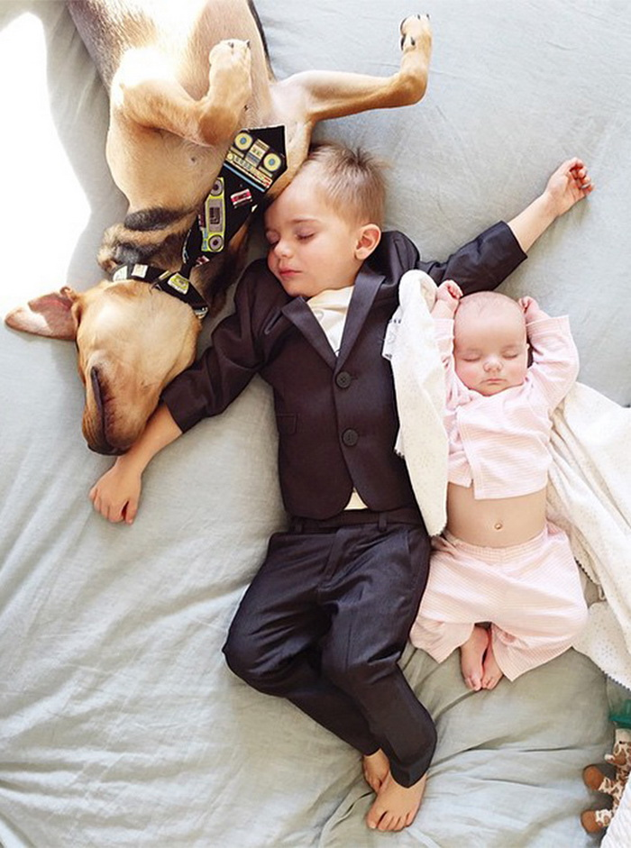 Theo, Beau And Evangeline Nap 3