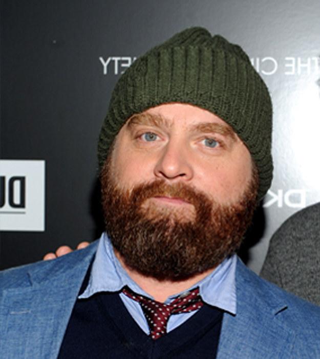 Zach Galifianakis With Beard