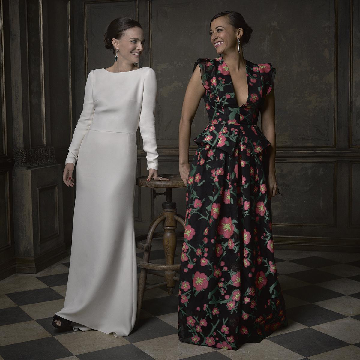 Natalie Portman and Rashida Jones