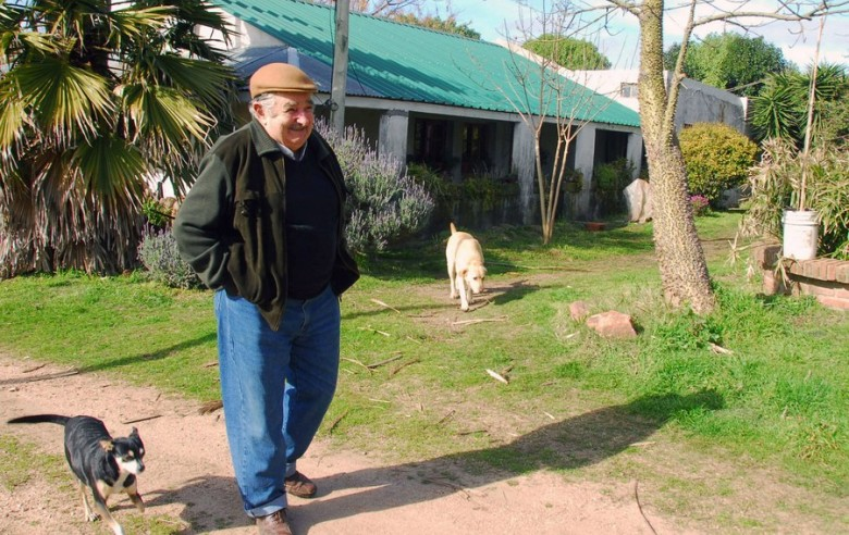 President of Uruguay, Jose Mujica at home