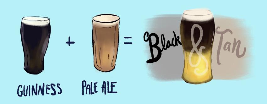 Black & Tan Beer Recipe