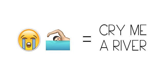 Cry Me A River Emoji