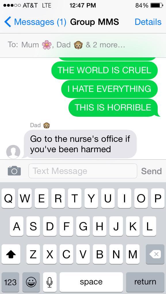 Dad Reaction 1