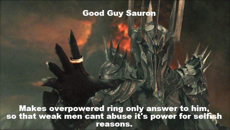 Good Guy Sauron 7