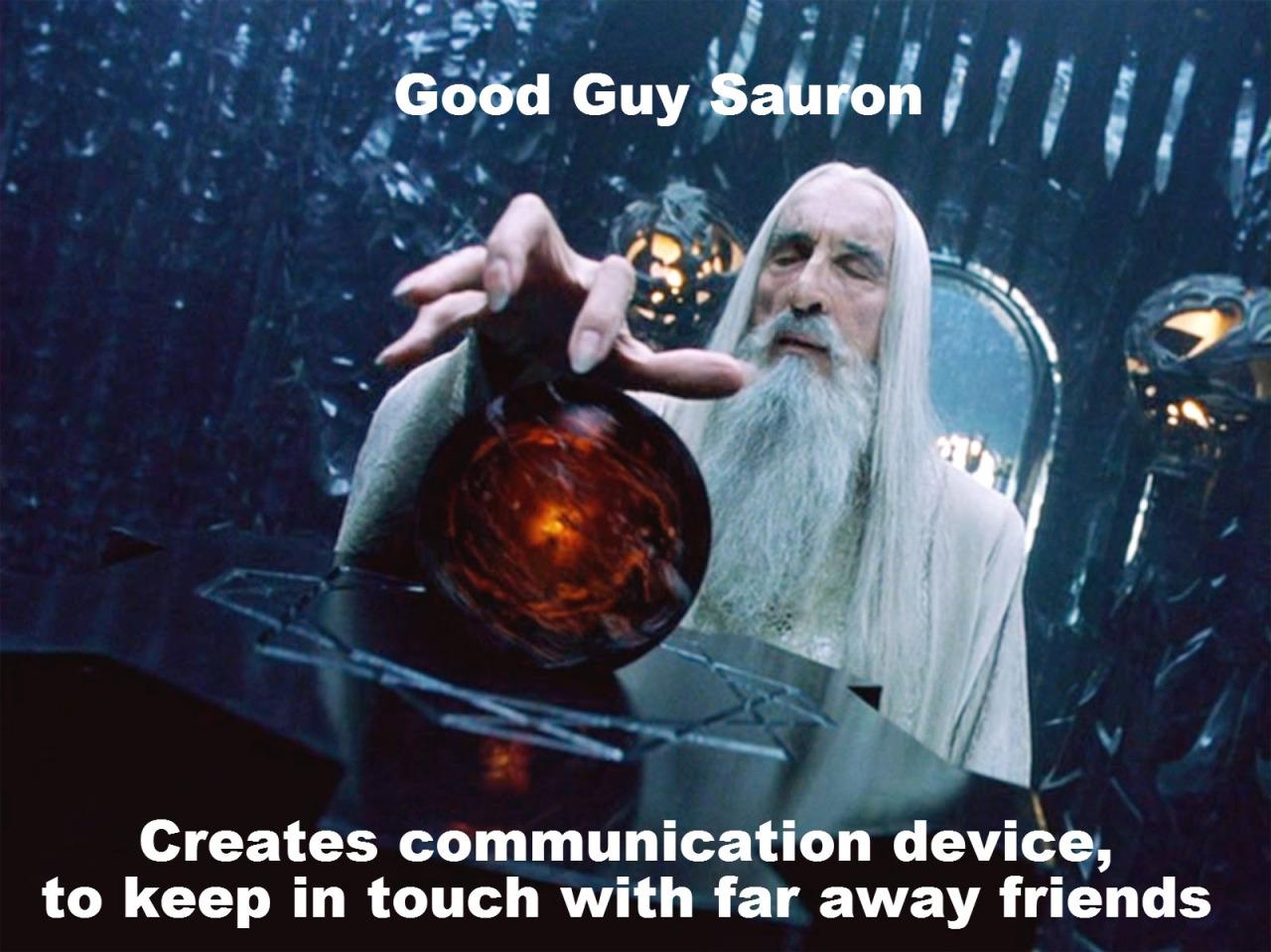 Good Guy Sauron 8