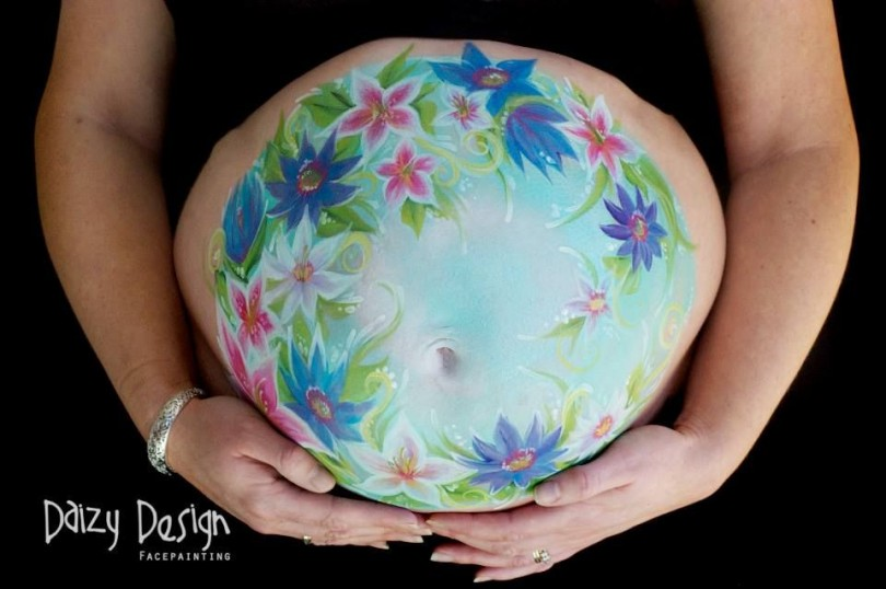 Pregnant Belly Painting 19