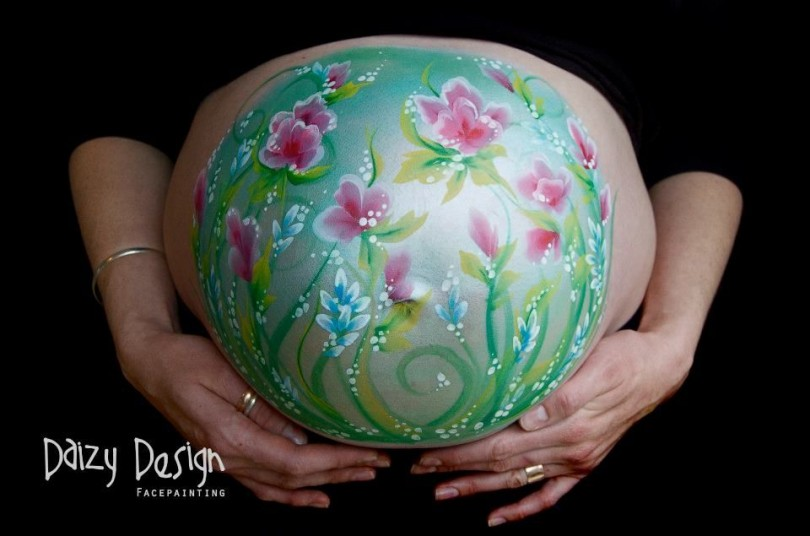 Pregnant Belly Painting 5