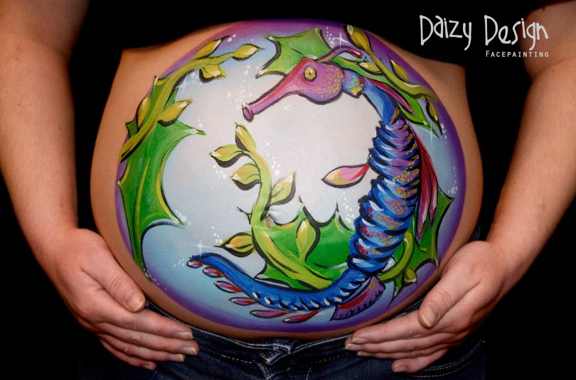 Pregnant Belly Painting 7