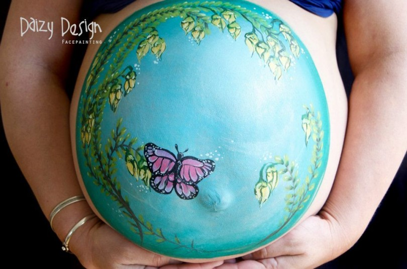 Pregnant Belly Painting 9