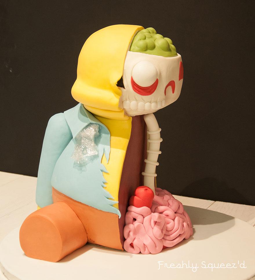 Ralph Wiggum Simpsons Cake 10