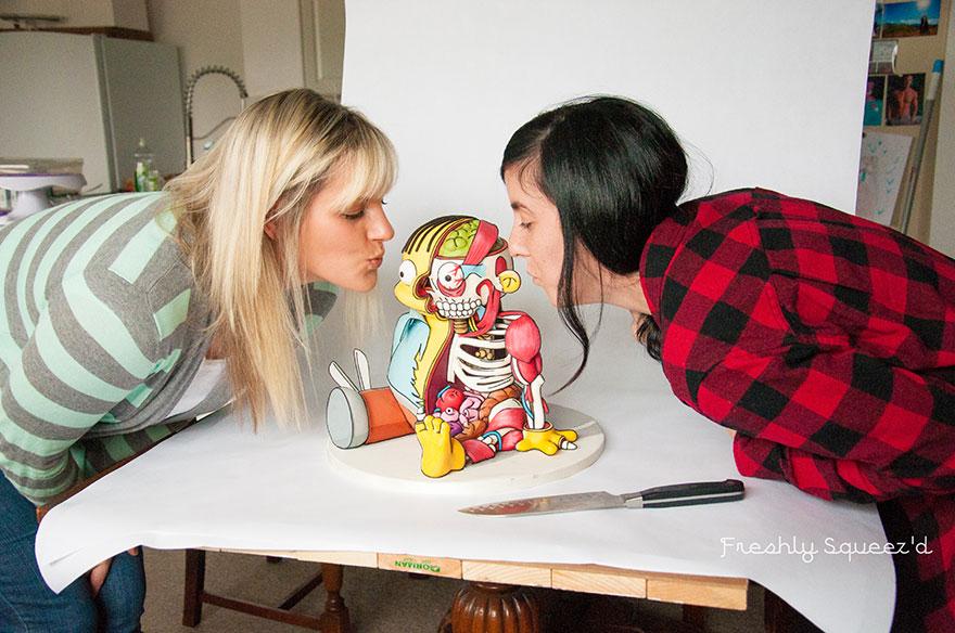 Ralph Wiggum Simpsons Cake 14