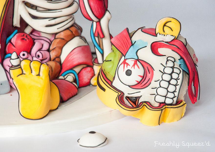Ralph Wiggum Simpsons Cake 19