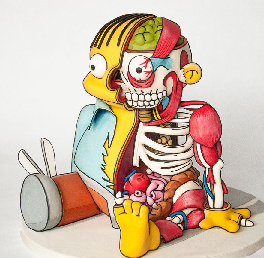 Ralph Wiggum Simpsons Cake 21