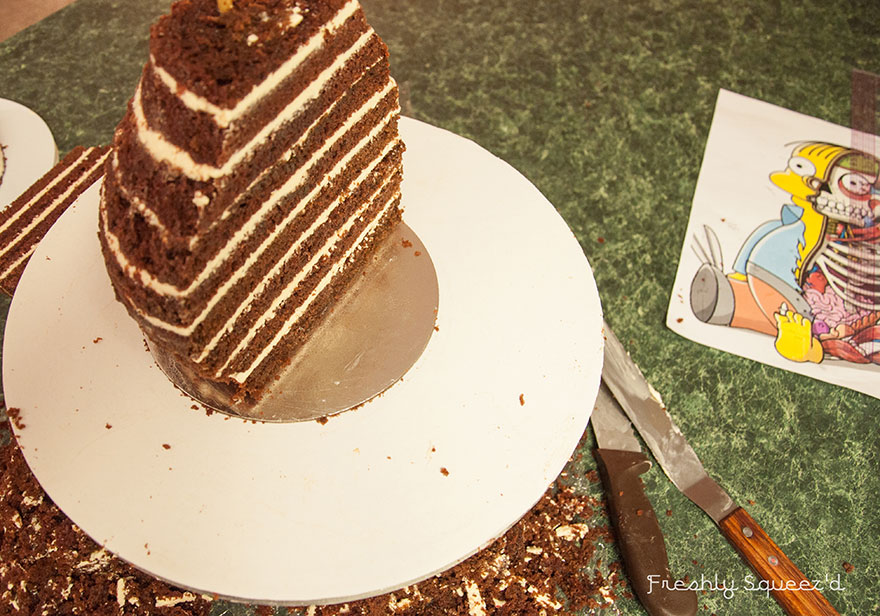 Ralph Wiggum Simpsons Cake 4
